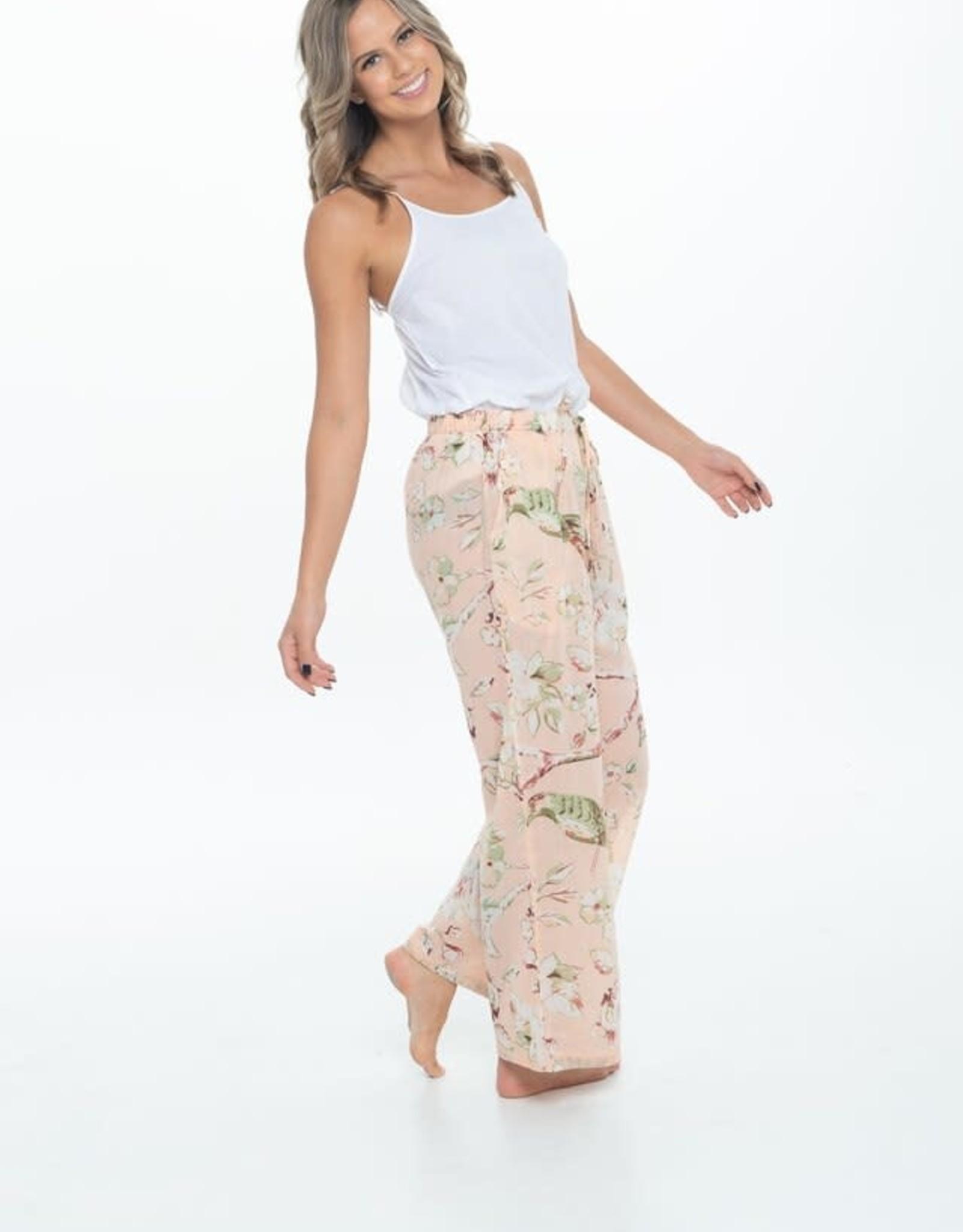 Linens Unlimited CLP211 BLOSSOM LOUNGE PANTS