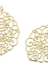 LIBERTE E527B CHRISSY GOLD EARRING