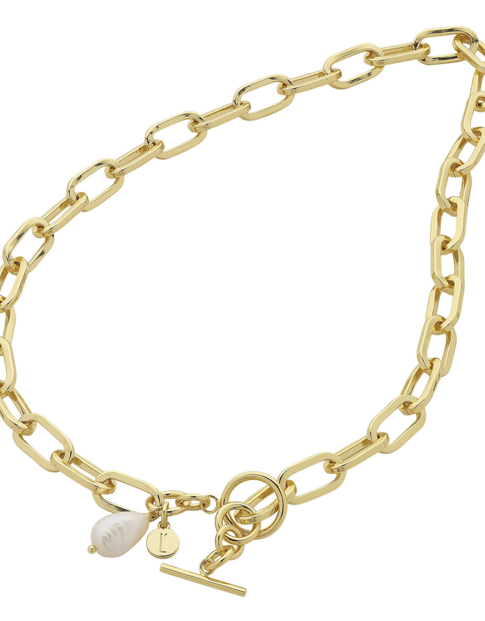 LIBERTE N487A Darcy Gold Necklace