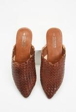 HUMAN Human Shoes - Mojo Leather Slide (Chocolate)