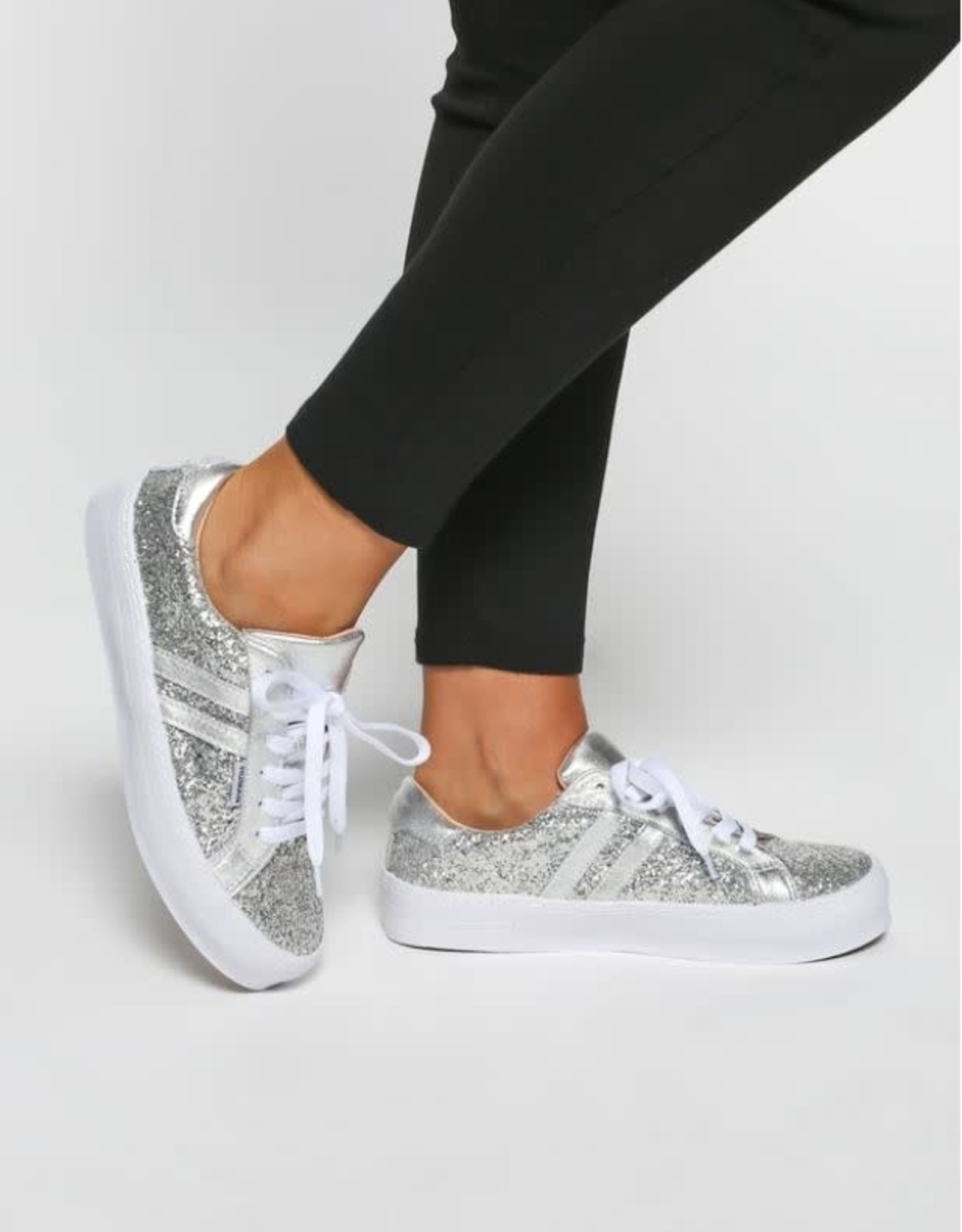 HUMAN Human - Pratt Shoe (Silver Glitter)