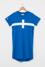 STELLA & GEMMA Stella + Gemma - T-Shirt Dress (Cobalt) SGSF4137