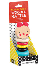 INDEPENDENCE STUDIOS PTC313 Wooden Rattle Toy