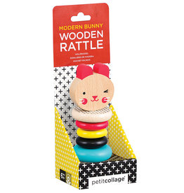 INDEPENDENCE STUDIOS Wooden Rattle Toy