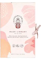 INDEPENDENCE STUDIOS Wanderflower Sheet Mask - Set of 4
