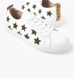 WALNUT Haven Star Leather Sneaker