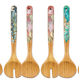 LISA POLLOCK Assorted Bamboo Salad Servers