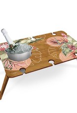 LISA POLLOCK Collapsible Bamboo Picnic Table - Large
