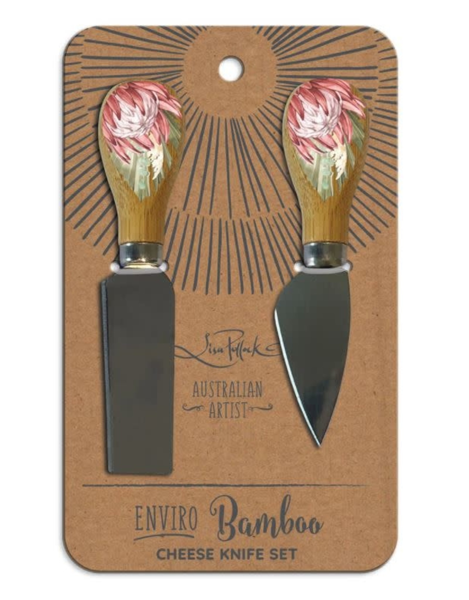 LISA POLLOCK Cheese Knife Set - Assorted Colours