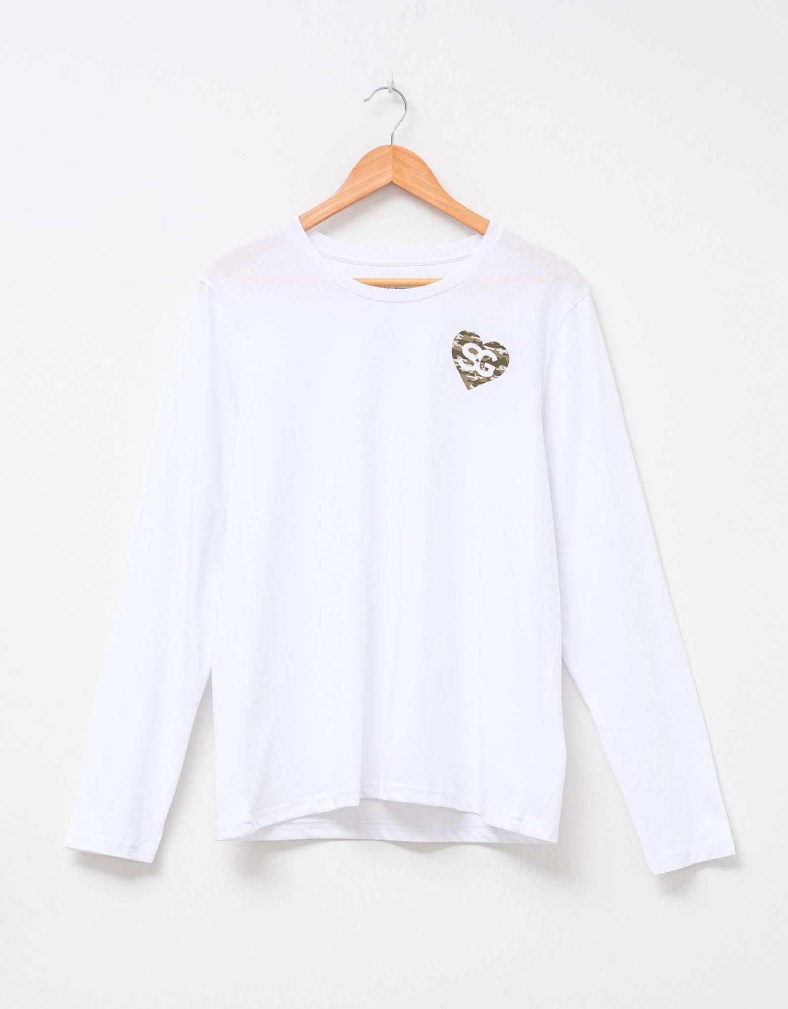 STELLA & GEMMA Heart Long Sleeve T-shirt - 2 Colour-ways