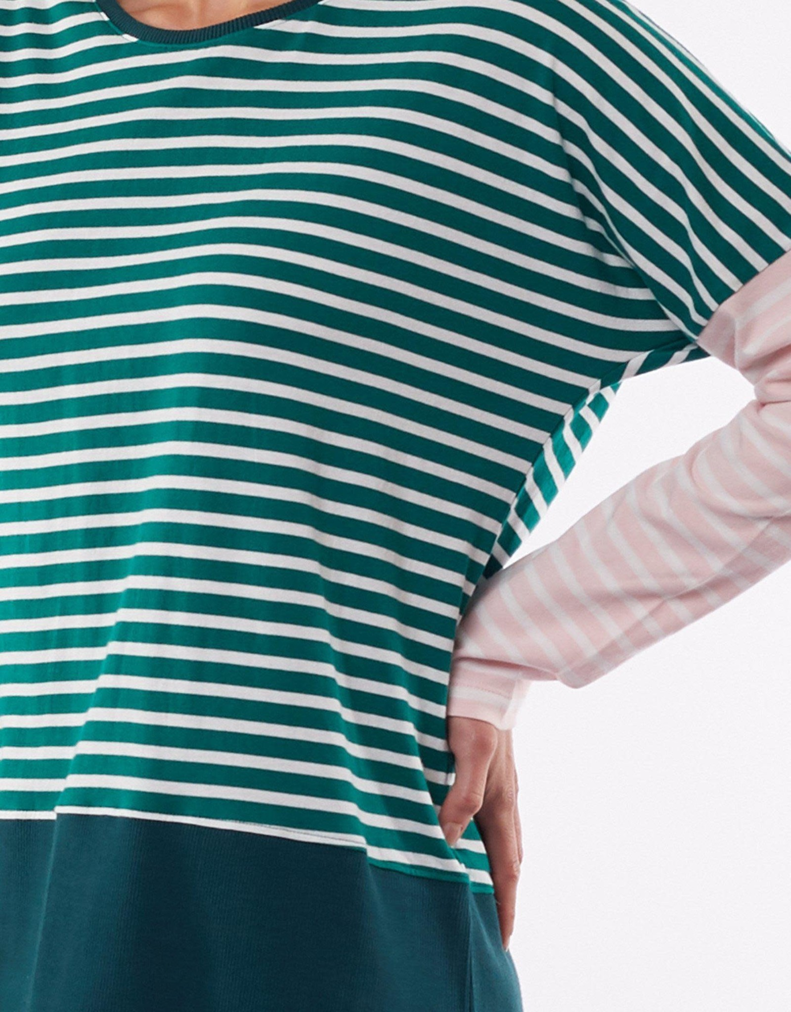 ELM ELM Liberty Stripe Long Sleeve Tee