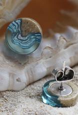 BOLDB Shoal Aqua Earrings