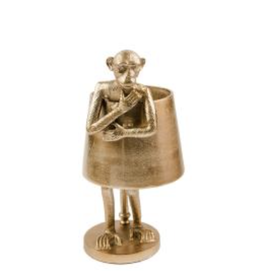 RUBY STAR TRADERS LAM234 MONKEY LAMP BRONZE