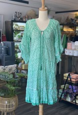 LULALIFE NIKO SHIRRED DRESS