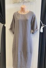 SOHO177 LINEN SOHO DRESS