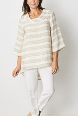 SEE SAW COWL NECK TUNIC TOP