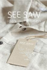 SEE SAW SQ NECK MAXI DRESS W/DRAWSTRING