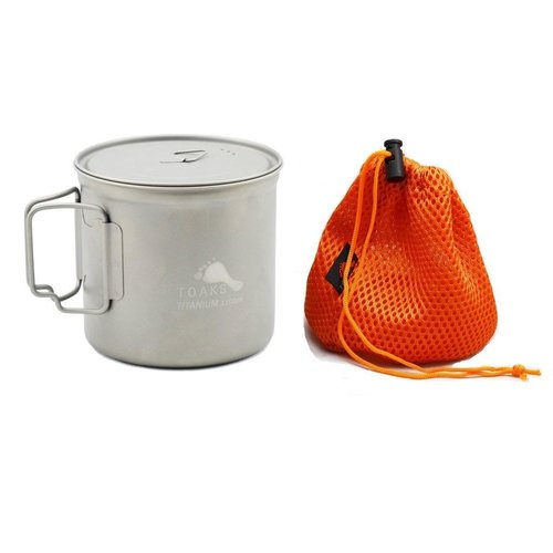 TOAKS Toaks Titanium Pot With Lid 1100ml