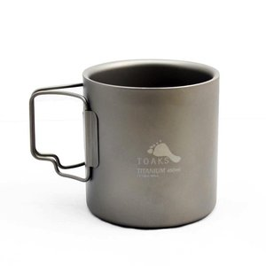 TOAKS TOAKS TITANIUM DOUBLE WALL CUP 450ML