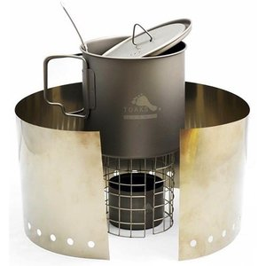 Toaks Titanium TOAKS TITANIUM ALCOHOL COOK SYSTEM WITH 700ML POT