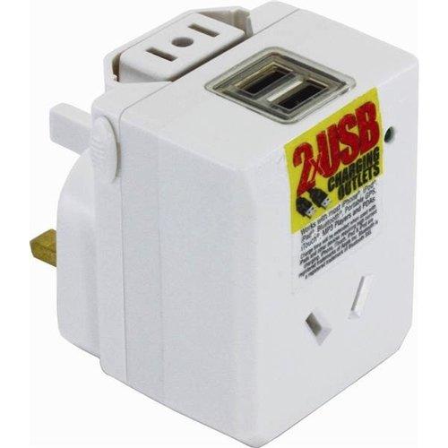 OSA Brands OSA Brands Universal Travel Adaptor With USB
