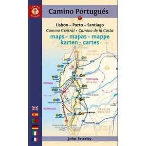 CAMINO PORTUGUES MAPS 2016 John Brierley