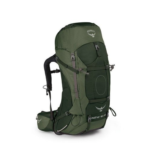 OSPREY OSPREY AETHER AG 60L MEN'S HIKING BACKPACK WITH RAIN COVER
