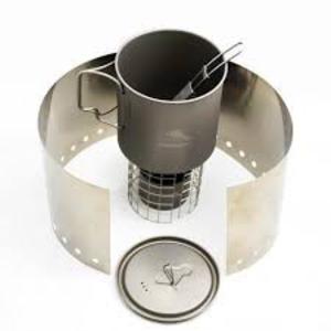 Toaks Titanium TOAKS TITANIUM ALCOHOL COOK SYSTEM WITH 650ML POT