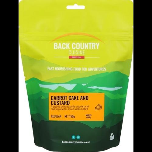 BACKCOUNTRY BACKCOUNTRY CARROT CAKE & CUSTARD (REGULAR)