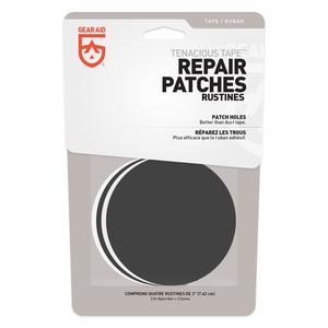 Gear Aid GEAR AID TENACIOUS TAPE REPAIR PATCHES BLACK