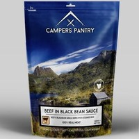 CAMPERS PANTRY BEEF AND BLACKBEAN - SINGLE SERVE