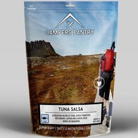 CAMPERS PANTRY TUNA SALSA - LUNCH SERVE