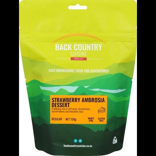 BACKCOUNTRY BACKCOUNTRY STRAWBERRY AMBROSIA DESSERT (REGULAR)