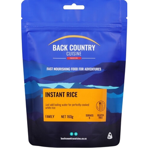 BACKCOUNTRY BACKCOUNTRY INSTANT RICE 510GM (FAMILY)