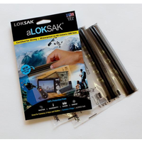 ALOKSAK WATEPROOF BAG MULTI PACKS SIZE 6X6 (2PACK)