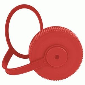 Nalgene NALGENE WIDE MOUTH REPLACEMENT LOOP-TOP-CAP 63MM, RED