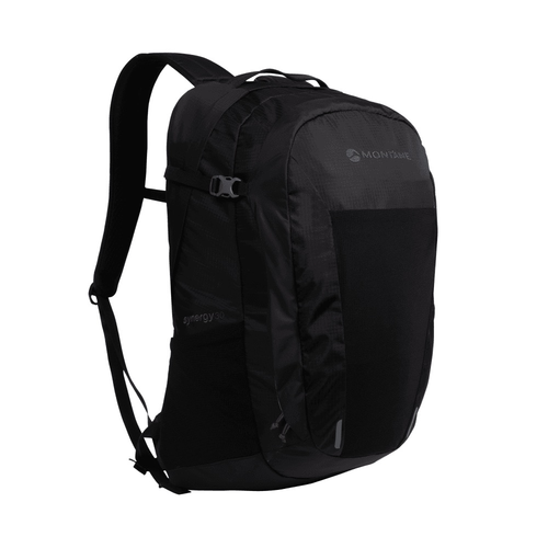 MONTANE MONTANE SYNERGY 30L, OVERNIGHT COMMUTE AND MOUNTAIN DAYPACK, BLACK