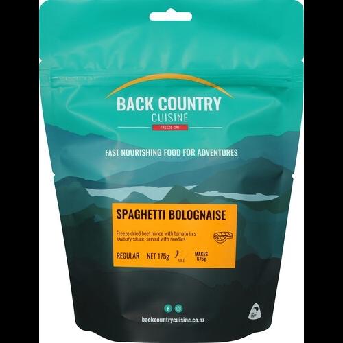 BACKCOUNTRY BACKCOUNTRY SPAGHETTI BOLOGNAISE (REGULAR)