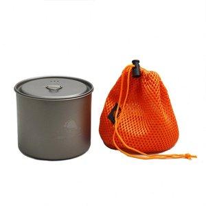 TOAKS Toaks Titanium Pot With Lid 550ml No Handle