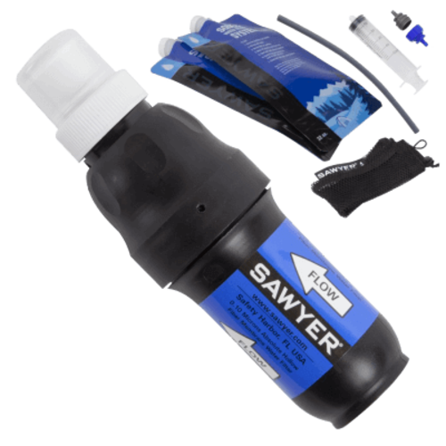 SAWYER SAWYER® SQUEEZE WATER FILTER SYSTEM with 2 POUCHES