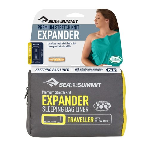 SEA TO SUMMIT SEA TO SUMMIT EXPANDER LINER TRAVELLER WITH PILLOW INSERT NAVY