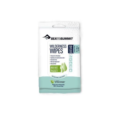 SEA TO SUMMIT SEA TO SUMMIT WILDERNESS WIPES COMPACT X 12