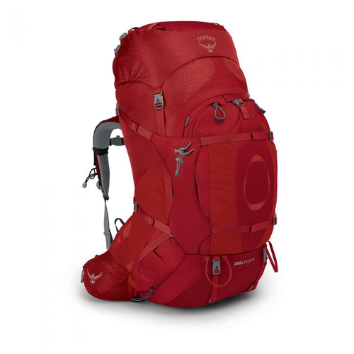 OSPREY OSPREY ARIEL PLUS 85L WOMEN'S HIKING BACKPACK WITH RAIN COVER