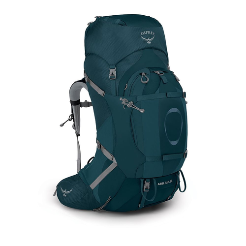 OSPREY OSPREY ARIEL PLUS 60L WOMEN'S HIKING BACKPACK WITH RAIN COVER