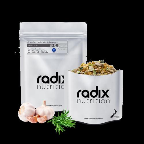 RADIX NUTRITION RADIX NUTRITION EXPEDITION 800 GRASS-FED LAMB, MINT & ROSEMARY