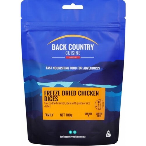 BACKCOUNTRY BACKCOUNTRY CHICKEN DICES 100G