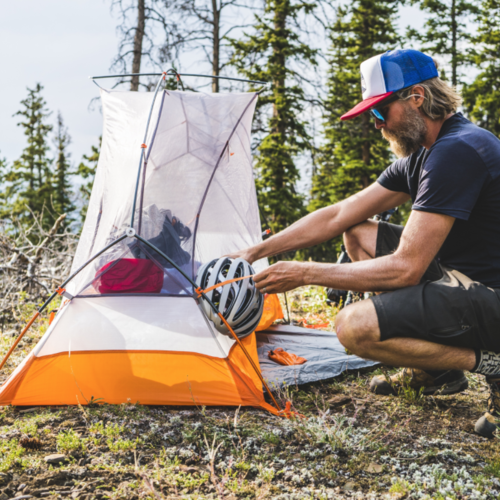 1 Person Bikepacking tents