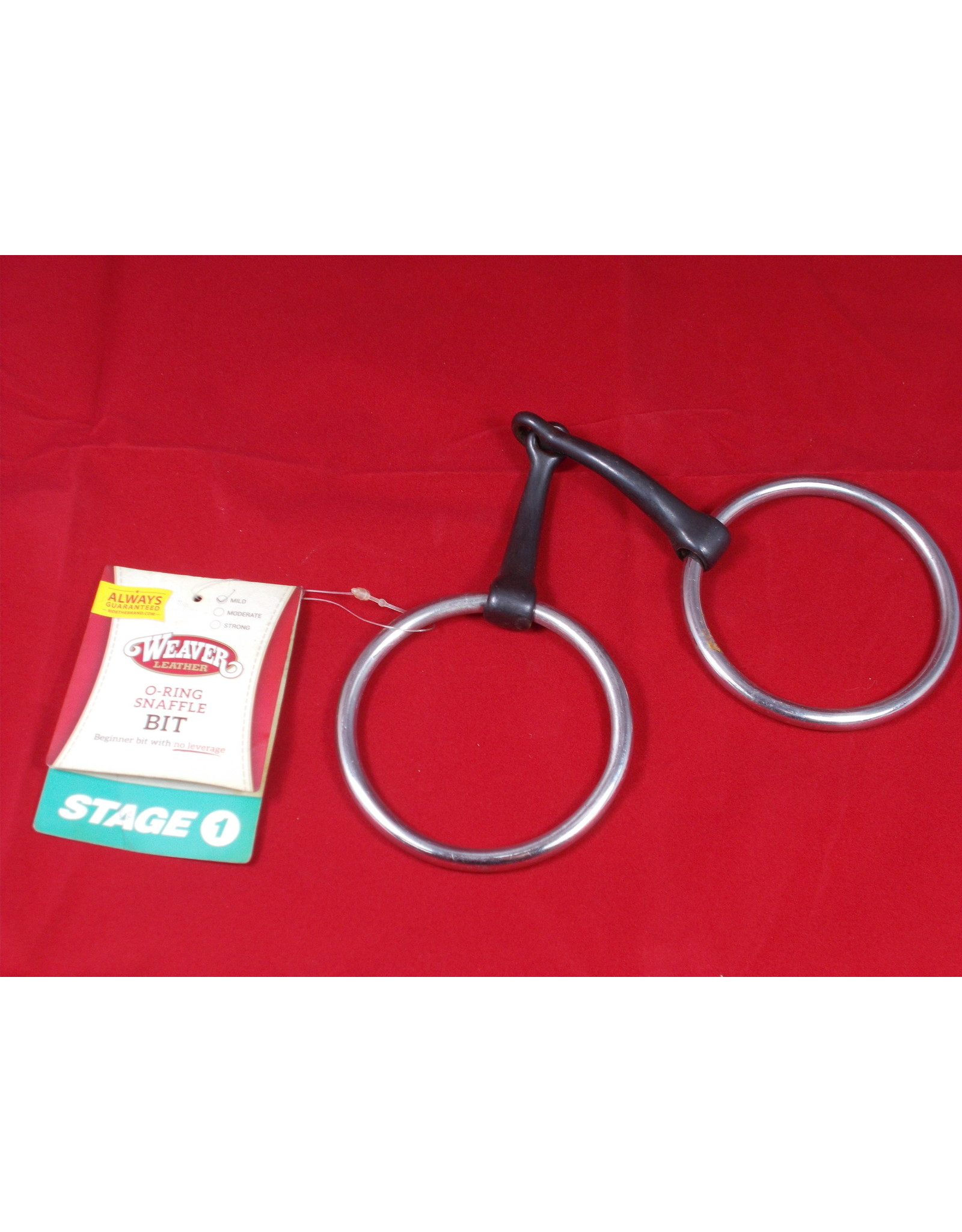 """Bit* 5"""" Sweet Iron Mouth w/ Slightly Curved Mouth Piece - 3"""" O Ring 25-5519"""