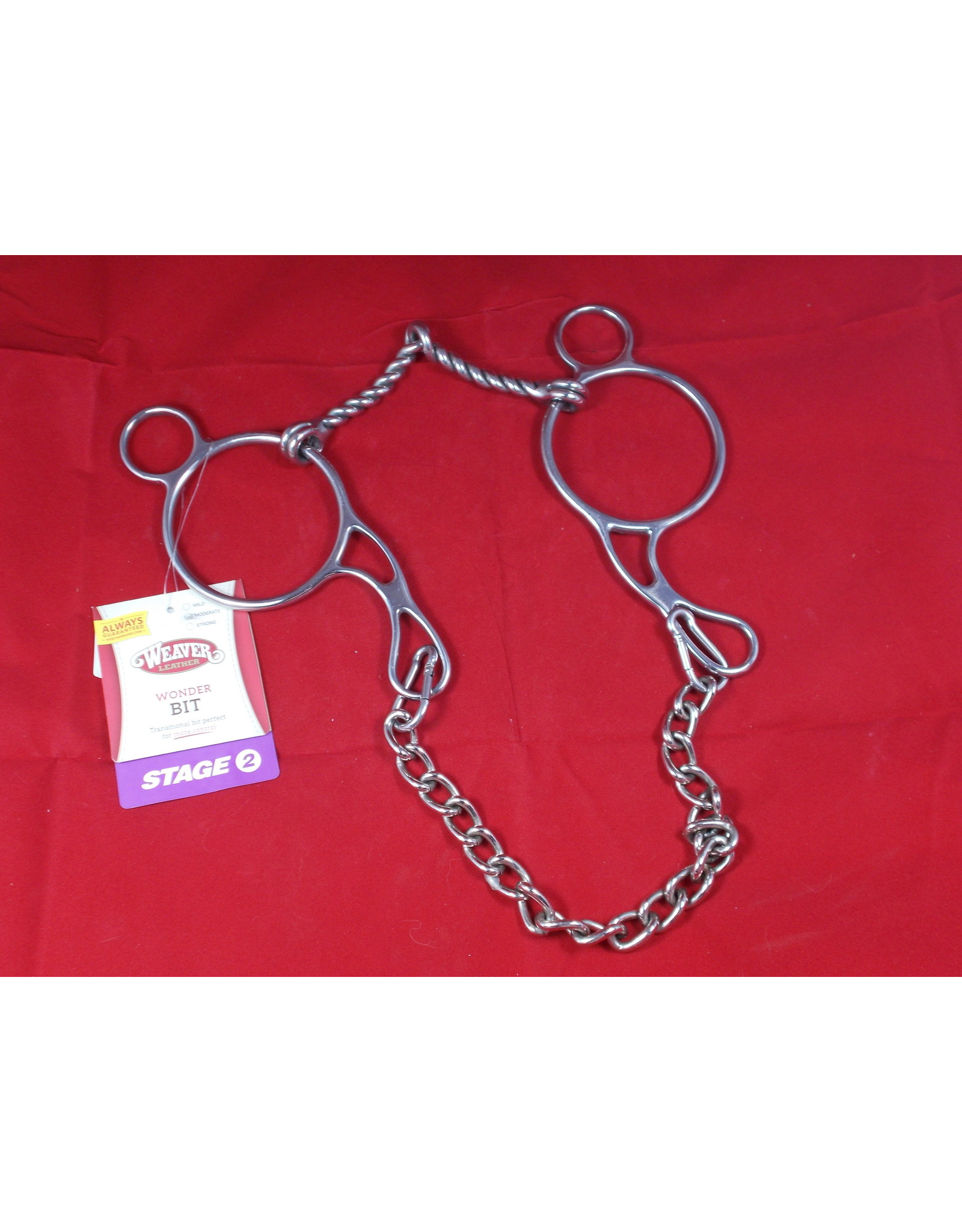 BIT* wonder bit stage2 moderate gag twisted snaffle 252-1812