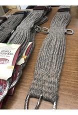 CIN* 100% Alpaca Straight Cinch 36 (fancy roller buckles and one side leather cinch holder)  35-2438